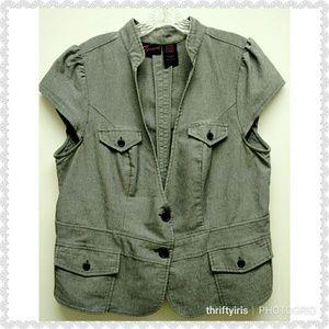 Torrid Shortsleeve Jacket/Blazer-Sz.1X